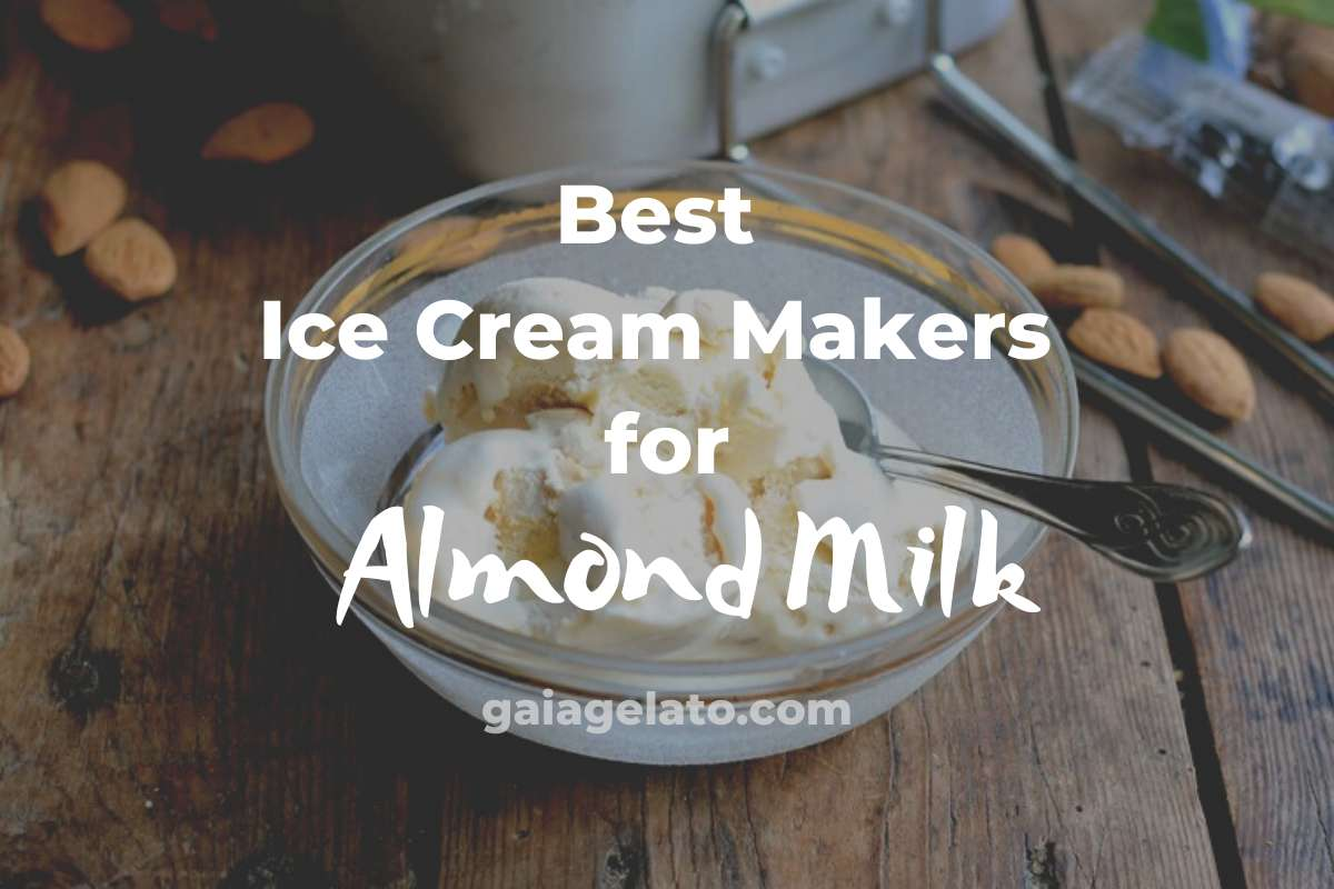 Best Ice Cream Makers for Almond Milk