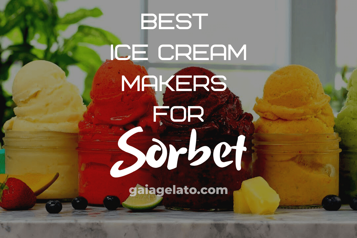 Best Ice Cream Makers for Sorbet