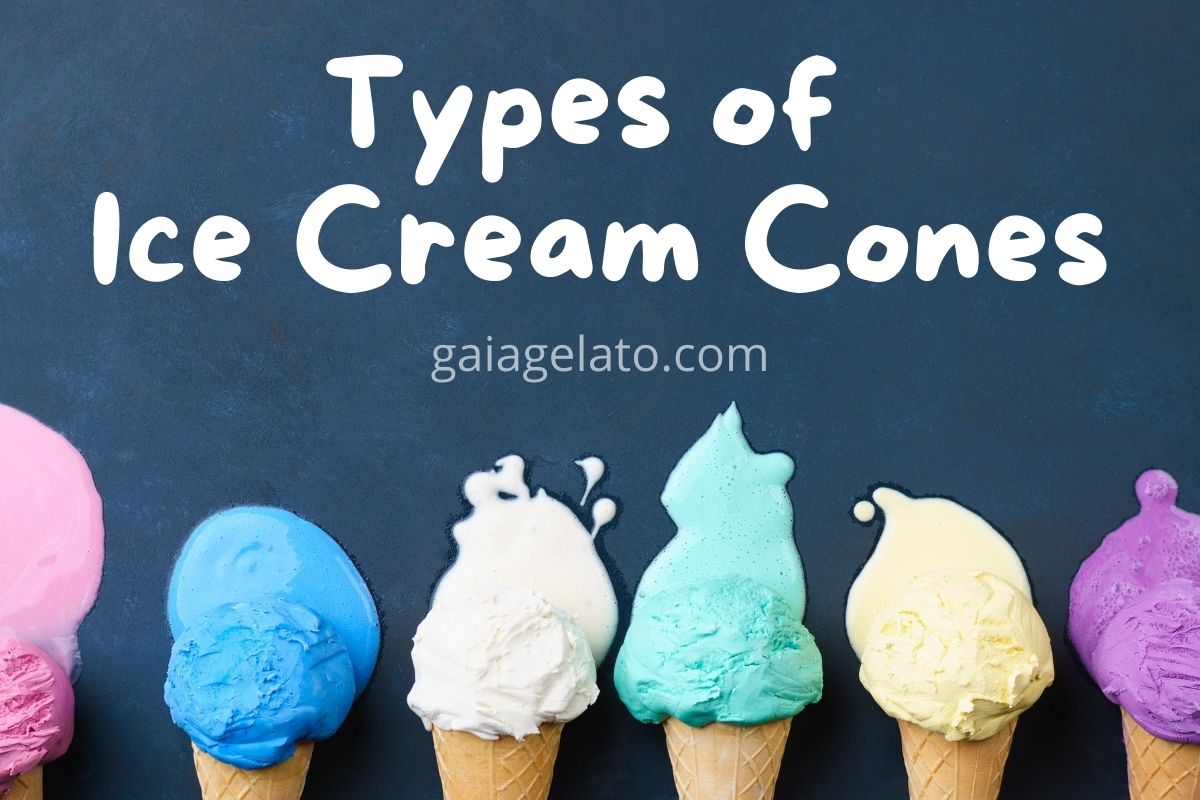 types of ice cream cones